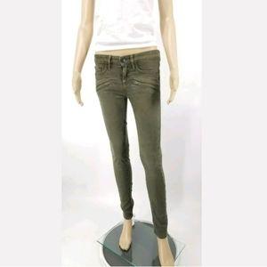 - Vince Skinny Jean's Size 25 Five Pocket Gr…
